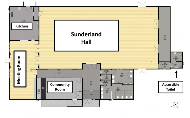 Sunderland Lounge Floorplan