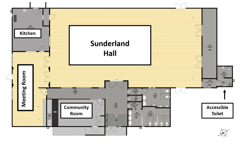 Sunderland Lounge Floorplan
