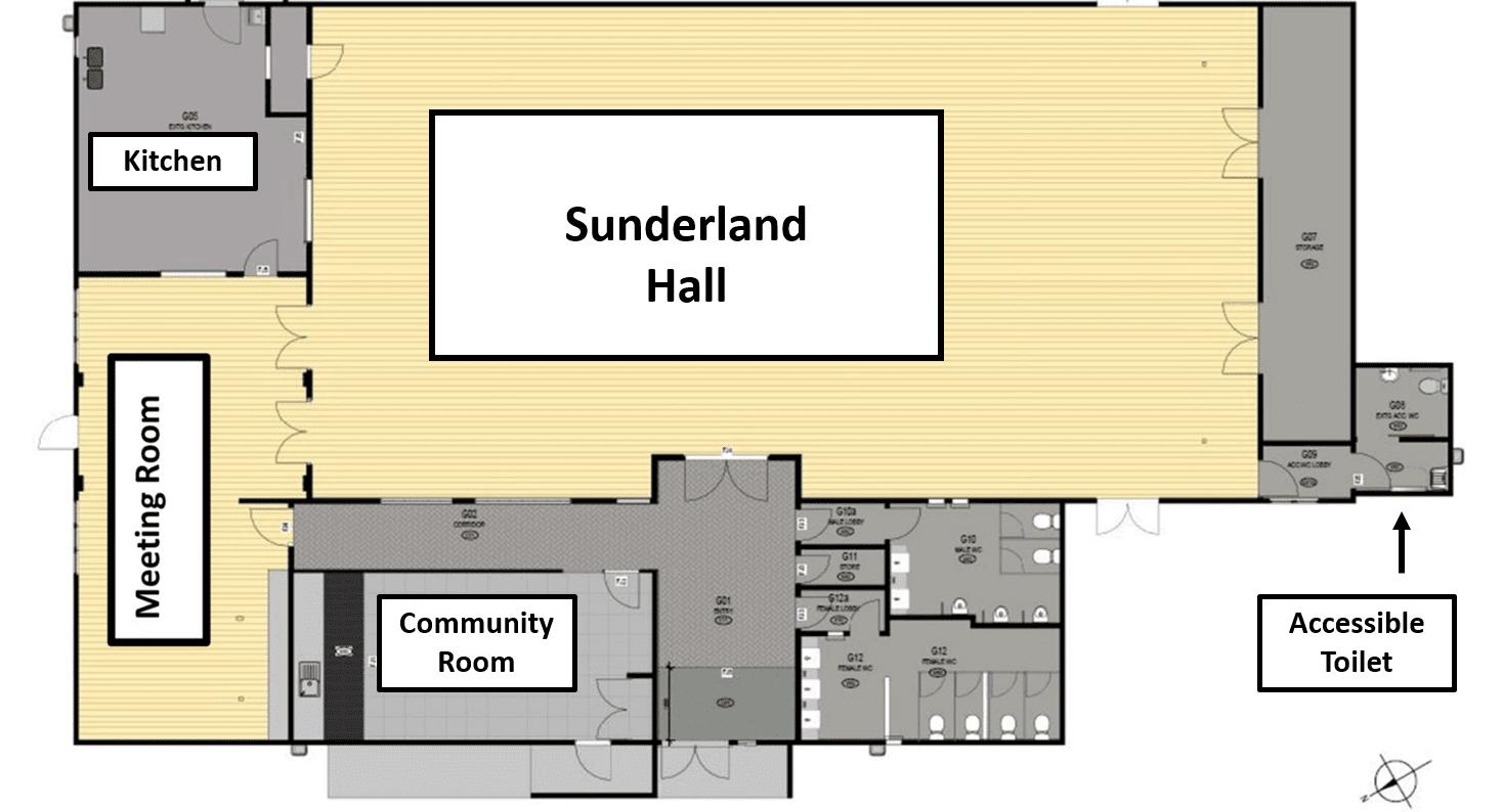 Sunderland Floor Plan